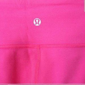 lululemon athletica Pants & Jumpsuits - Lululemon pink reversible yoga pants soft pink